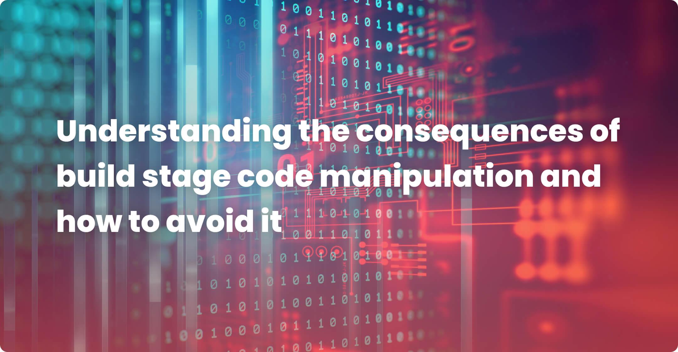 source code manipulation